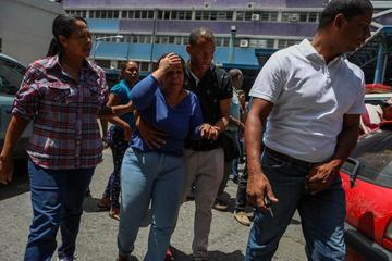Una estampida causa la muerte de 17 estudiantes en Venezuela