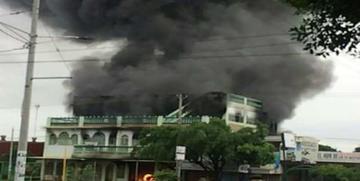 Incineran   a una persona en plena calle en Nicaragua
