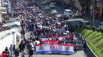 UPEA reactiva protestas y exige aclarar asesinato de estudiante