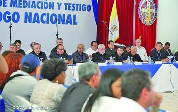 Suspenden mesas del diálogo en Nicaragua por incumplimientos