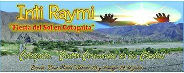 Cotagaita celebrará  fiesta de Inti Raymi