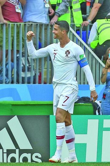 Cristiano Ronaldo le da la victoria a Portugal