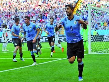 Uruguay vence y se clasifica a octavos de final