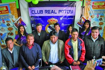 Nueva directiva se compromete a trabajar por Real Potosí