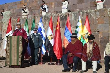 Morales presenta II Foro de  las Civilizaciones Antiguas