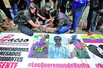 Confirman hallazgo de cuerpos de tres reporteros de Ecuador