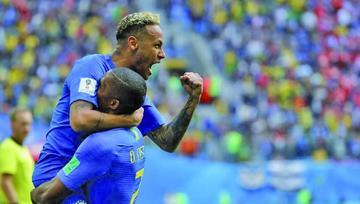 Brasil vence y está a un paso de octavos de final