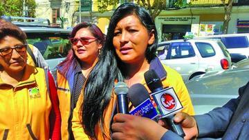 El Gobierno pide encarcelamiento de alcaldesa Chapetón en Obrajes