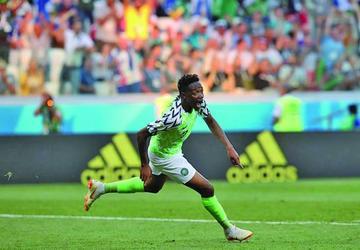 Nigeria gana 2-0 a Islandia