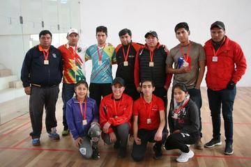 La Asociación de Ráquetbol premia a sus campeones e inaugura su segundo torneo