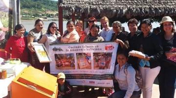 Cipca incentiva a mujeres de Beni a cuidar su salud con cocinas solares