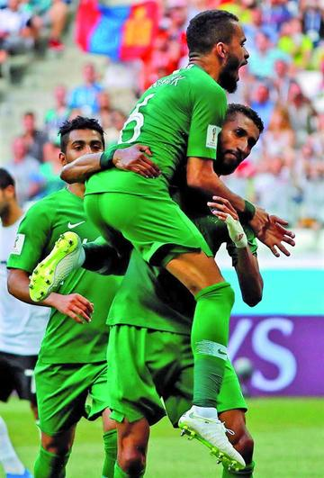 """Arabia Saudí vence a Egipto en el """"Volgogrado Arena"""""""