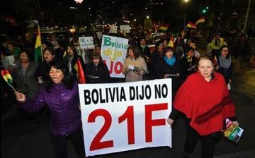 Los opositores reclamarán por el 21F en sesión de la CIDH en La Paz