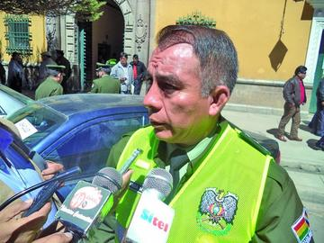 Fiscalía investiga accidente de un oficial