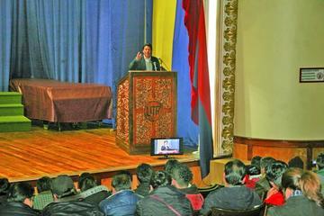Pumari postula incorporar a las organizaciones rurales a Comcipo