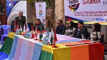 Potosí es sede de la Cumbre TLGB