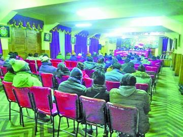 Ratifican elección de entidad  cívica dentro de ocho días
