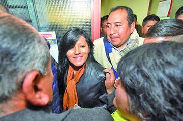 La justicia otorga a la alcaldesa Chapetón medidas sustitutivas