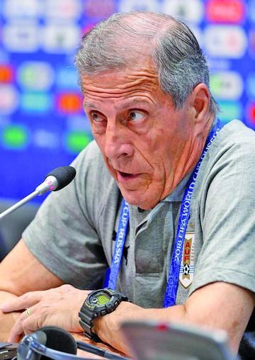 "Tabárez: ""tenemos con qué enfrentar a Portugal"""