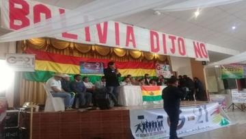 """Colectivos Ciudadanos declaran """"dictador"""" al presidente Evo Morales"""