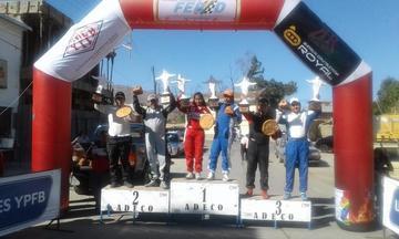 Potosinos suben al podio en Cochabamba