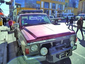 Ladrón admite que robó jeep a su conocida