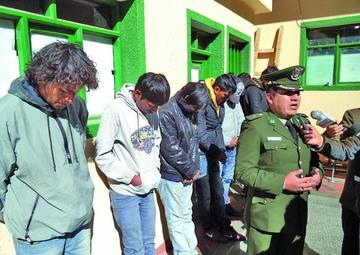 Liberan a 12 delincuentes porque no hubo denuncias