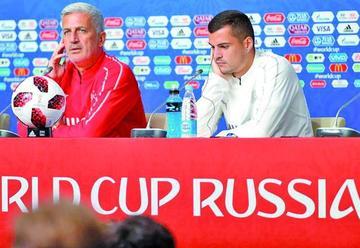 """Petkovic: """"que piensen que es la débil"""""""