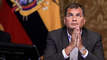 Ecuador pide arresto y extradición del expresidente Rafael Correa