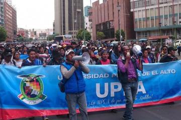 La UPEA rechaza refundación y decide retomar movilizaciones