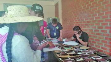 Felcc recupera 170 celulares robados en Cochabamba