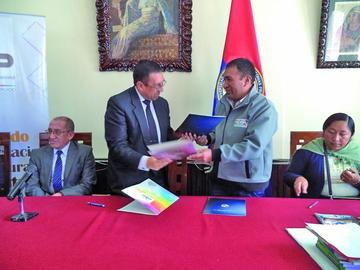 Tribunal Electoral Departamental recibirá pasantes de la UATF