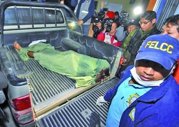 Imputan a tres reos del penal de Chonchocoro por el asesinato de Oti