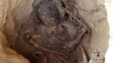 Hallan entierros en un valle del Perú