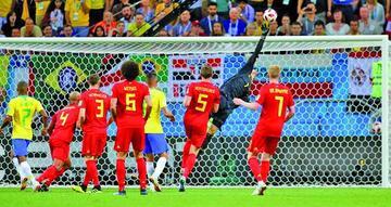 Bélgica clasifica y aleja a Brasil del hexacampeonato