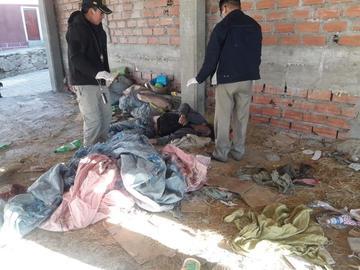 Hombre muere congelado en municipio de Llallagua