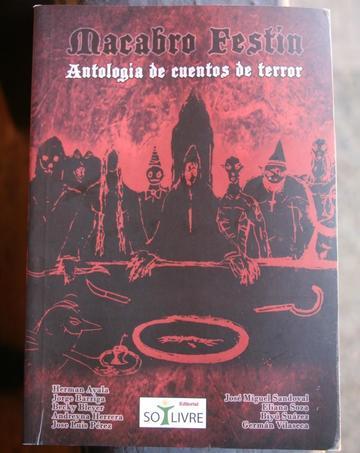 """Presentan el libro  """"Macabro Festín"""""""
