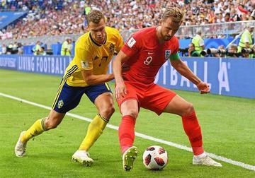 Inglaterra se mete de cabeza a las semifinales