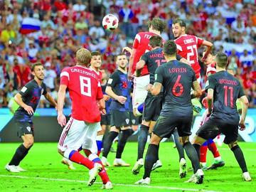 Las jugadas preparadas mandan en la copa del Mundo
