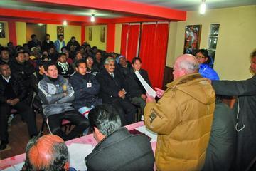 La FBF supervisa la elección de directorio en Real Potosí
