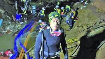 Tailandia celebra rescate de los atrapados en la cueva inundada