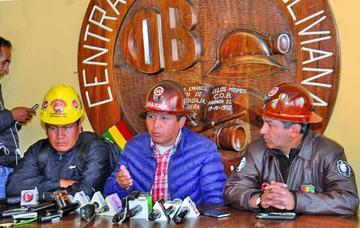 Central Obrera Boliviana pide un obrero para el binomio del MAS