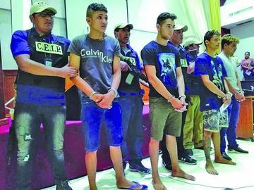 Van a prisión tres brasileños por robo de armas en puesto militar