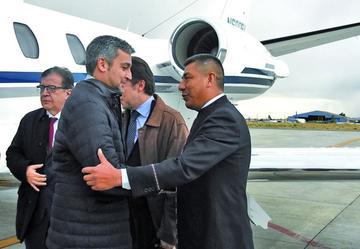 El presidente electo de Paraguay se reúne hoy jueves con Evo