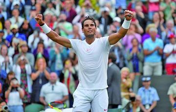 Nadal gana a Del Potro y logra las semifinales