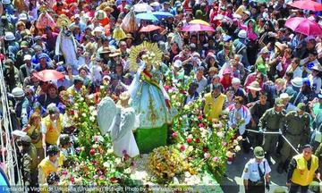 Preparan  la entrada folclórica de Urkupiña