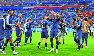 Francia y Croacia jugarán una final inédita de un Mundial