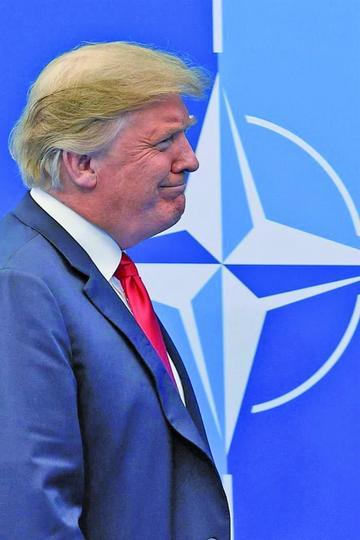 Trump pide a la OTAN elevar el gasto militar al 4 % del PIB