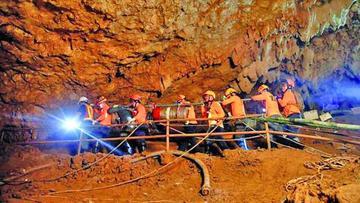 """La cueva de los """"jabatos"""" será un museo en Tailandia"""