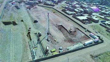 Avanza la construcción del nuevo hospital de tercer nivel en Potosí
